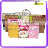 Various kinds of paper giveaway bags with customized printing