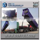 Heavy Duty Transport 3 Axles tipping dumping semi trailer tipper trailer                                                                         Quality Choice