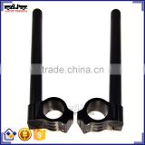 BJ-COHB-050 High Quality CNC Aluminum 50mm Scooter Clip On Handlebars For Aprilia Mille RS250