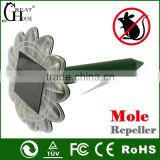 2014 New china products for sale solar mole repeller with beautiful sunflower shape GH-316E