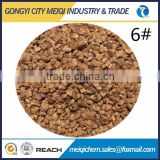 Polishing granules abrasive material walnut shell