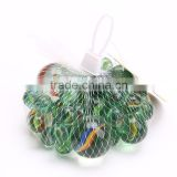 funny childhood quality high clear colored glass marbles with ASTM