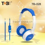 2015 Dual stereo headset, mobilephone headset with mic,headphones china wholesale markets