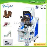 Full-automatic nine-claw oil press toe lasting mahcine with hot melt for high-heeled shoes,sneakers,plimsolls,canvas shoes,leath
