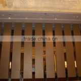 china manufacturer aluminium high quality vertical folding partitions for ballrooms