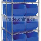 Rack Bin Containers, Rack Bin Containers Wire Packages, Wire Shelving, Mobile Wire Shelving Units, Container Storage Centers