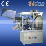 Full automatic multi-function cosmetic plastic bottle filling and sealing machine, tube fill and closing machine