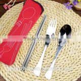 Stainless steel travel cutlery set made by Junzhan factory directly