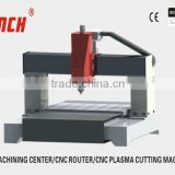 Mini Woodworking Center/400mm Z axis/AC servo/HSD 3.0kw spindle/platform moving/ cast whole structure/ 3 axis ball screw drive