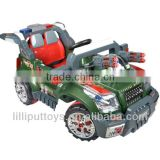 Double drive two batteries/Remote control car with light &sound /Green R/C car(non-toxic toy)