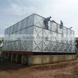 Hot dipped galvanized water tank good price with high quality