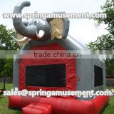 2016 Popular PVC material Elephant jumping castle inflatable bouncy castle for sale SP-AB031