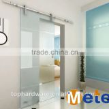 glass sliding barn door stainless steel barn door hardware,vertical sliding door hardware