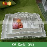 Attractive lovely exquisite wedding fruit basket india wedding decoration food serving tray
