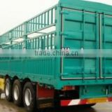 Competitive low price high quality 50ton 60ton 70ton CIMC 2016 new 3 axle fence semi trailer stake semi trailer for sale