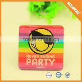 15-0252 Party decorations metal magnetic stickers reflective car magnet sticker