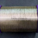 Brass clad steel sawing wire for cutting silicon