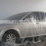 Plastic transparent Disposable Car Cover