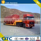 100-500T Multi-axles Large Capacity Lowbody Truck Trailer for Transport used Construction Machinery