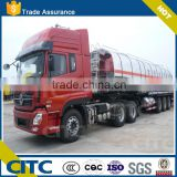 CITC diesel oil engine tank /47 CBM aluminum alloy tank truck/water tanker trcuks for sale