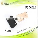 Famous brand mobile power bank original battery charger power bank for iphone5,iphone 6 plus,ipad 4,ipad air