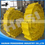 HOT SELL Undercarriage spare parts of excavator track shoe assy with best quality and reasonable price MADE IN CHINA