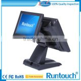 "Runtouch RT-6800 Alibaba EPOS TILL 15"" Dual Display and MSR Touch Screen POS System"