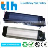 Hi performance aluminum alloy shell ebike 36v 11ah battery