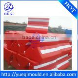 roto mould roadway safety barrier
