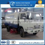 China's exports of Carbon steel dongfeng High pressure cleaning road /sweeping road truck most popular price