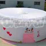 Large inflatable outdoor inflatable clear tent,camping tent,inflatable cube tent                                                                                                         Supplier's Choice