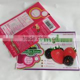 Food Industrial Use and Frozen Berry Plastic Packaging Bag