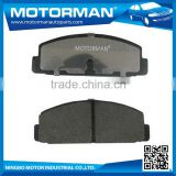 MOTORMAN 16 Years Experience factory offer directly customized rear car brake pad D482-7186 for mazda