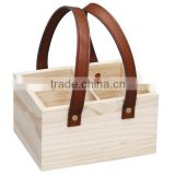 Hot sale wooden beer bottle crates glass bottle crates wine glass crate