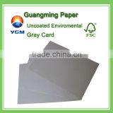 Packing material/Uncoated duplex gray board/Environmental friendly