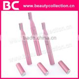 BC-0606 Battery Operated Lady Trimmer for Eyebrow,Bikini Line,Underarms,Hands,Feet and other parts