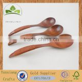 European antique wooden soup spoon small wooden spoon