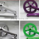Colorful Crankset for Fixed Gear Bike