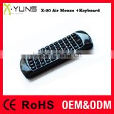2.4G wifi Wireless Air Mouse + Keyboard for Mini PC