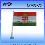 car flags with big pole custom car flags cheap print car flags car window promotion flags car window hanging flags