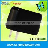 universal Plugs power adapter/ 220v ac dc 5v 1000ma power adapter