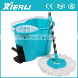2015 360 Degree Spinning Rotating Absorbent Microfibre Cleaning Mop and Bucket Kit with pedal
