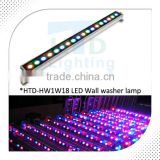 linear remote controlling led wall washer lamp