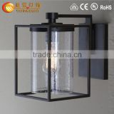 Bird Cage glass Lamp Shade American Rural single head industrial wall lamp,indoor wall light