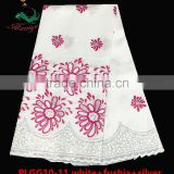 Haniye 2016 Elegant Embroidered african Raw Silk George lace fabric indian george lace fabric/PLGG10