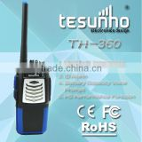 5w power output IP54 waterproof professional handheld TH-360 railroad two way radio holder
