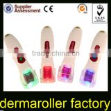 DNS vibrating microneedle roller derma 540 stainless steel used for sun spot,acne scars,wrinkle,stretch marks