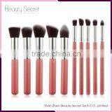10pcs personalized kabuki makeup brush set wholesale