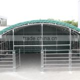 New double trussed frame animal tent horse stable livestock shelter