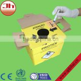 online shopping site waste carton sharp box and device of disconnect needles